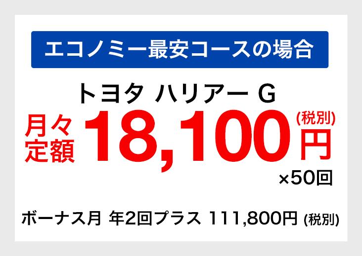 トヨタ ハリアー G