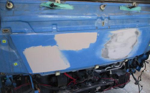 トラック 塗装2