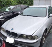 BMW・E39(前後ブレーキパット&ブレーッキパットセンサーんの交換)